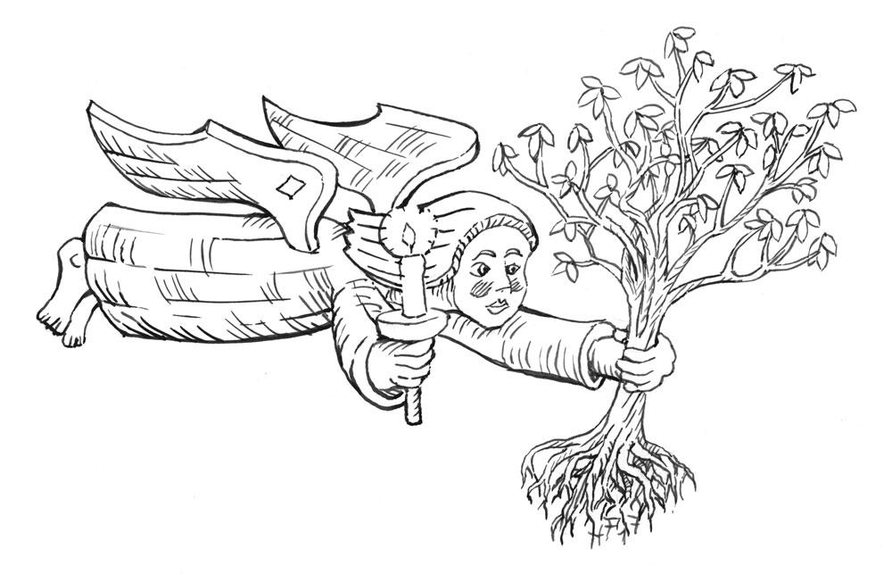 Zeichnung Holger Friebel