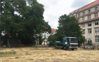 Sternplatz vor Beginn der Bauarbeiten 2019