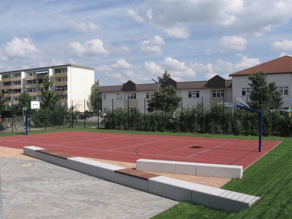 Ansicht des Kunsttoffplatzes der Freizeitsportanlage Emil-Schemmel-Straße in Heidenau 2009